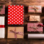 Assortment of wrapped holiday gifts - Holiday Swag - Safeguard by Prime